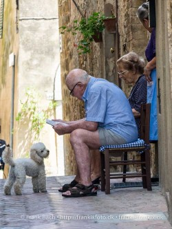 Life is lived slow in Pienza