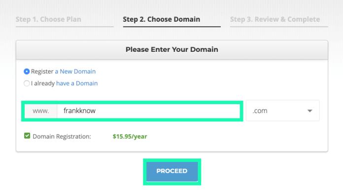 siteground:網址申請