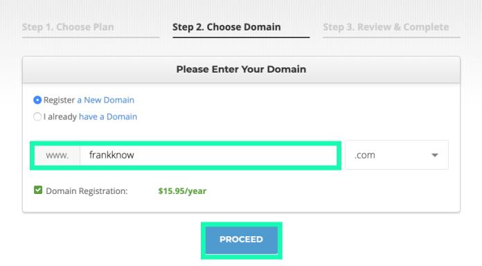網站架設 :siteground網址申請