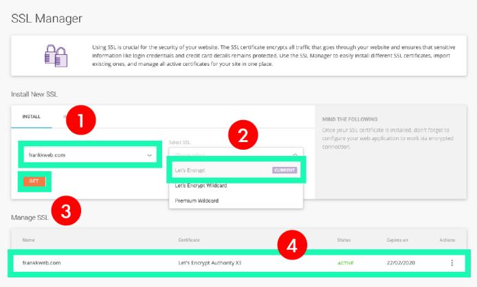 網站架設 :SSL 憑證申請