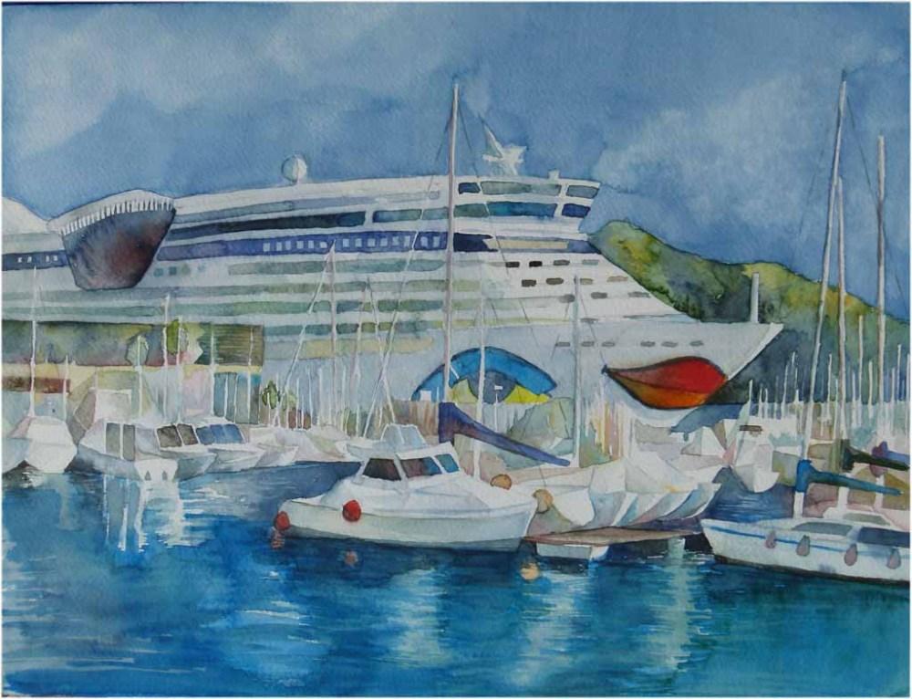 Maritime Aquarelle (1/6)