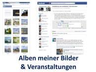 Alben meiner Bilder und Veranstaltungen auf Facebook (c) Frank Koebsch