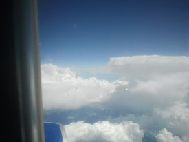 auf dem Weg nach Seattle - über der Wolken muss die Freiheit grenzenlos sein(c) Frank Koebsch