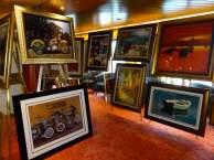 Galerie und Kunstauktion auf der MS Zaandamm (c) Frank Koebsch (2)