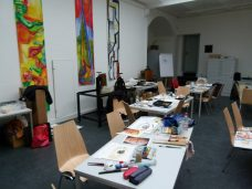 Blick in die Kreativwerkstatt des Schweriner Museums (c) FRank Koebsch