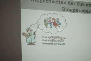 Blogparaden sind Möglichkeiten zur effektiven Zusammenarbeit von Künstler (c) Boris A. Knop