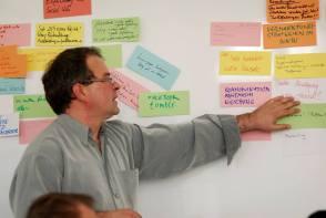 Orientierung an der Erwartungen der Teilnehmer im Workshop - Kunst und Kommunikation im Social WEB (c) Boris A. Knop
