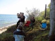 Aquarellkurs an den Steilküste von Heiligen Damm (c) Steffi Fehlberg (2)