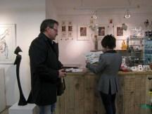 Galeristin Cindy Höppner und Frank Koebsch (c) Susanne Haun (2)