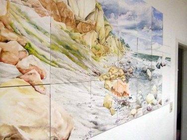Resiges Rügen Aquarell von Max Struwe (c) FRank Koebsch