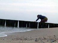 Wasserholen am Strand (c) Frank Koebsch
