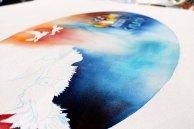 Die Leinwand für Rostock Kreativ 2015 ensteht (c) Frank Koebsch (9)