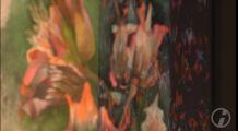 Farbspiele des Sebnitzer Flussteufels auf Basis des Aquarells von Frank Koebsch (c) DRESDENEINS.TV (2)