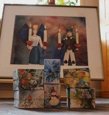 Origamischachtel - die ideale Verpackung von Weihnachtsgeschenken (c) Frank Koebsch