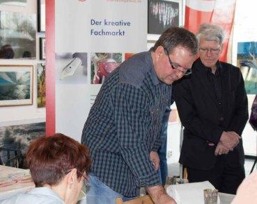 Frank Koebsch malt bei Rostock kreativ (c) Annett Grabow