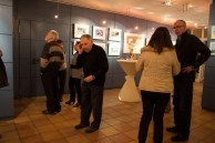 Besucher der Ausstellung von Hanka u Frank Koebsch im Graal Müritz (c) Frank Koebsch (1)