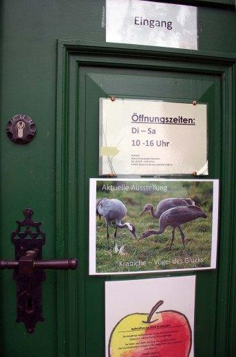 Kranichausstellung des NABU in der Naturschutzstaion Schwerin (c) Frank Koebsch (3)