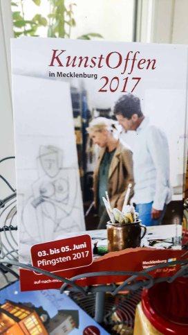 Kunst Offen 2017 in der Alten Büdnerei