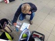 Im Workshop Aquarell des Plein Air Festivals Kühlungsborn (c) Sonja Jannichsen (1)