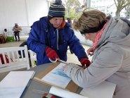 Im Workshop Aquarell des Plein Air Festivals Kühlungsborn (c) Sonja Jannichsen (3)