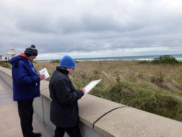 Skizzieren an der Ostsee im Aquarellworkshop des Plein Air Festivals in Kühlungsborn (c) Sonja Jannichsen (3)
