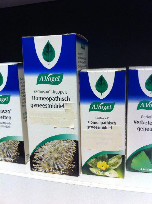 Gezondheidsclaims homeopathie