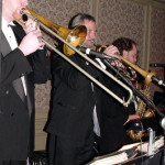 Mike Dotterer, Rob Henke, and Tony Gairo, our fabulous 3pc horn section.