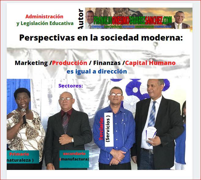 Administración y Legislación Educativa. Capítulo 1 Libro de FranklinOnesimoTavarezSanchez.com