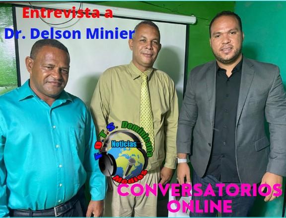 Entrevista al Dr, Delson Minier en Conversatorios Online de Fots Dominicana Medios