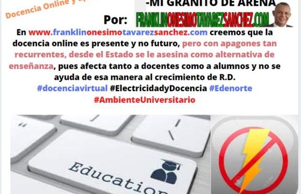 Docencia Online y apagones