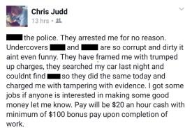 Chris Judd Facebook