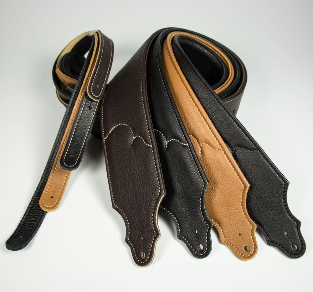 padded glove leather guitar strap franklin strap. Black Bedroom Furniture Sets. Home Design Ideas