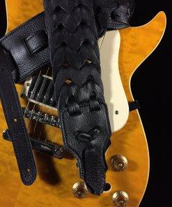 Link Glove Leather Handmade Guitar Strap