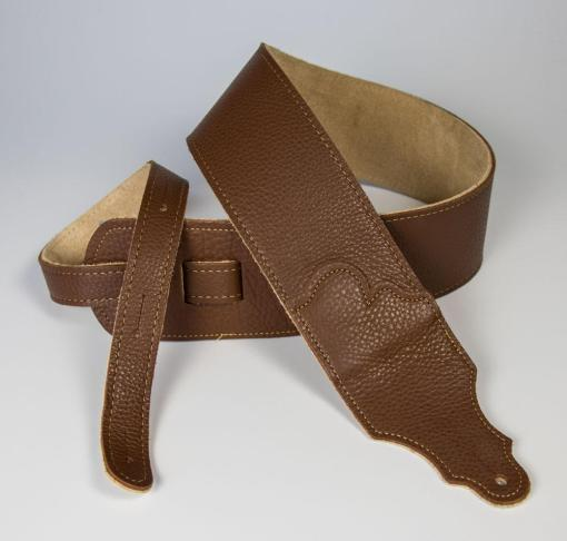Original Natural Glove Leather Guitar Strap