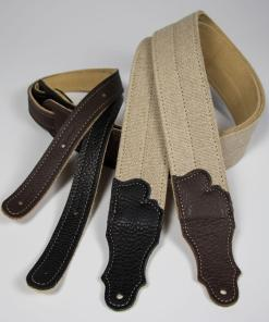 Hemp 2-Fold with Suede Backing and Leather Ends