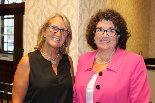 Candy Sullivan and Susan Minor
