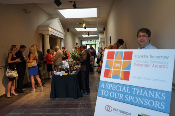 PARKS Realty hosted a reception, catered by Circa Grille in Thompson's Station and Lipman Bros. in Nashville, prior to the main event at the Theatre. for honorees and guests.