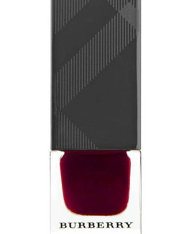 Burberry Nail Polish in Oxblood