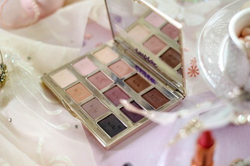Spring Beauty | My Top Picks for Embracing Softer Hues this Spring feat Tartelette Amazonian Clay Matte Palette against pastel backdrop_