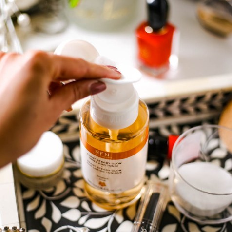 The Basic Skincare Steps you Need in your Routine   feat application method for Ren Ready Steady Glow Tonic_