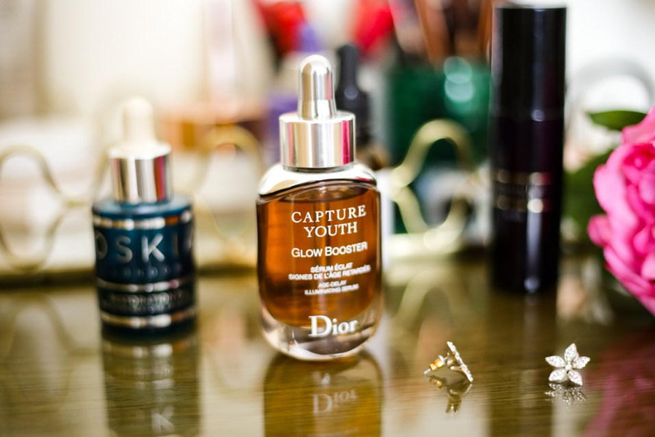 What's Currently On My Dressing Table | feat Dior Capture Youth Glow Booster