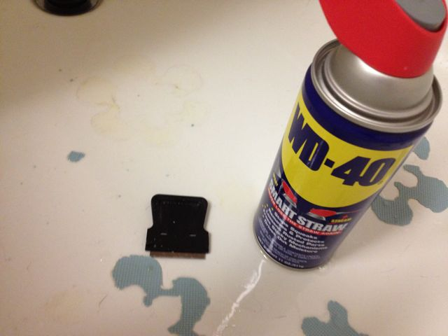 WD-40 and a Straight Razor