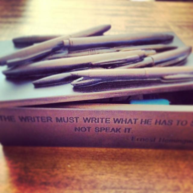 Ernest Hemingway Pen Box