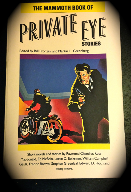 The aptly titled Mammoth Book of Private Eye Stories (1988).