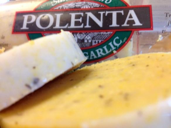 San Gennaro Polenta with Basil and Garlic