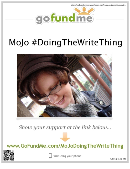 Go Fund Me: #DoingTheWriteThing