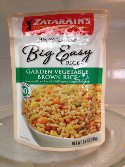 Zatarain's Big Easy Garden Vegetable Brown Rice Mix