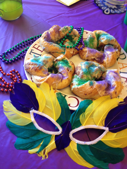 Celebrate with King Cake