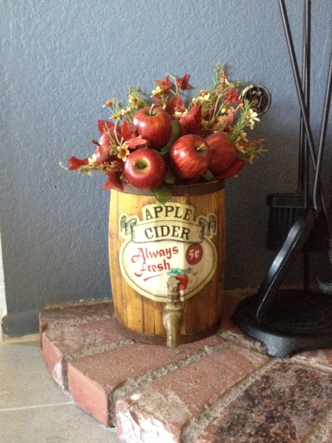 Apple Cider Arrangement