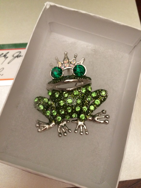 The Frog Prince Pin